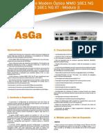 Manual Modem MMO16E1NG Asga