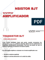Transistor BJT como amplificador