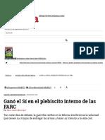 Ganó el Sí en el plebiscito interno de las FARC.pdf