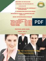 presentación interorganizacional