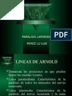 Parálisis Laríngea 2012.ppt