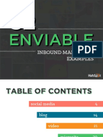 Enviable Inbound Marketing Examples