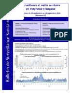 Bulletin de Surveillance Sanitaire_PF_Semaine 37-2016