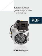 Air Cooled Diesel Engines 12.0-26.0 KW Espanol