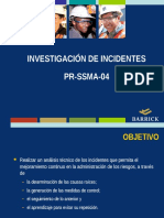 Investigación de Incidentes