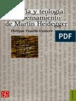 Capelle-Dumont - Filosofía y teología en el pensamiento de Martin Heidegger.pdf