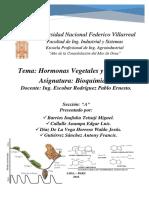 Hormonas Vegetales and Animales