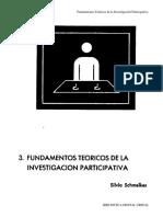 Schmelkes - 1991 - Fundamentos Teóricos de La Investigación Participativa BIBLIOTECA DIGITAL CREFAL