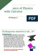 AP Physics C - Calculus
