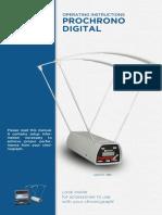 ProChrono 3800 Manual 2011