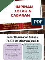KEPIMPINAN SEKOLAH & CABARAN
