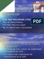 Conceptos actuales sobre Síndrome de Ovarios  Poliquísticos.ppt