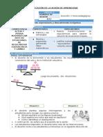 MAT - U6 - 1er Grado - Sesion 06.docx