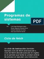 Programas de Sistemas