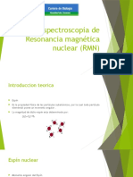 Espectroscopia de Resonancia Magnetica Nuclear (RMN)