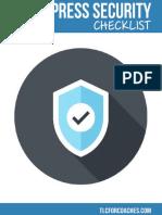 WordPress Security Checklist