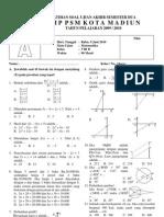 Latihan Soal UAS Semester 2 Kode A