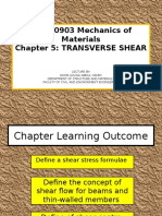 Bfc20903_chapter 5 Transverse Shear