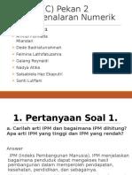 Tugas PPt Penalaran Numerik HG 01 MPKTB (C) Pekan Ke 2