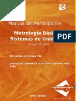 Manual Metrologia