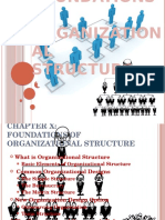 Foundations of Organizational Structure