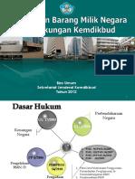 Pengelolaan Bmn Kemdikbud 2012