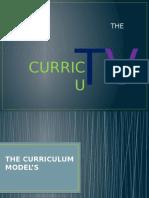 Curriculum Devlopment( Models)