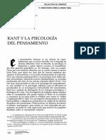 KantYLaPsicologiaDelPensamiento