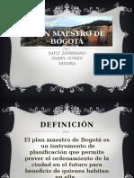 Plan Maestro de Bogotá