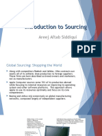 INTRO TO gLOBAL sOURCING