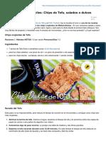 Recetasdukanmariamartinez.com-Recetas Con Tofu Fciles Chips de Tofu Salados Onbspdulces