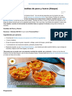 Recetasdukanmariamartinez.com-Desayunos Dukan Cestitas de Pavo y HuevonbspAtaque