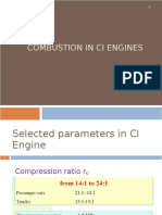 Combustion and Combustion Chamber in Ci Engines