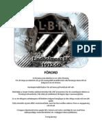 Lindholmens BKs historia 1932-50