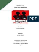 LAPORAN KASUS TB HIV