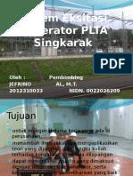 Sistem Eksitasi Generator PLTA Singkarak PPT