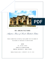Adaptive Reuse of Farah Bakhsh Palace In