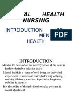 Mental Health Intro