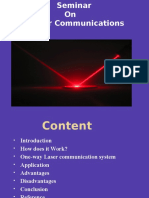 Laser Communications Ppt