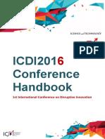 ICDI 2016 Handbook