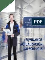 Seminarios Actualizacin ISO 9001 2015