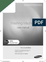 User Manual_Samsung Washing Machine