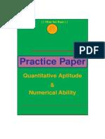 Quantitative Ability - 121 Questions