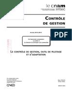 (Collection DCG Intec 2013-2014) Marc RIQUIN, Olivier VIDAL-UE 121 Controle de Gestion Série 4-Cnam Intec (2013)