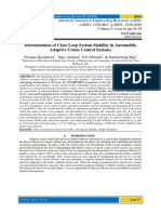 Determination of Close Loop System Stability in Automobile Adaptive Cruise Control Systems