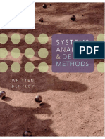 Systems Analysis and Design Methods, 7e, Jeffrey L. Whitten, Lonnie D. Bentley, 2007.pdf