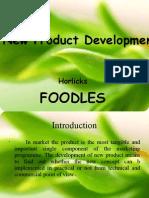 FoodLes product development