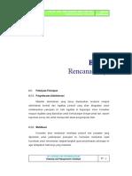 Bab 4 Rencana Kerja