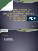 Commissioning Procedure