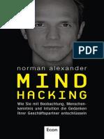 Mind Hacking Wie Sie Mit Beobachtung Menschenkennt